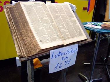 Original Lutherbibel von 1677