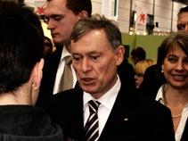Bundespräsident Horst Köhler auf der Buchmesse