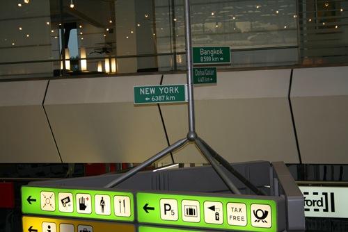 Nicht mehr weit bis New York