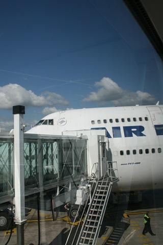 Boing 747 - Paris ==> Toronto