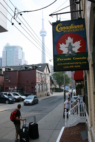 Canadiana Backpackers Inn - Unser Hostel in Downtown Toronto
