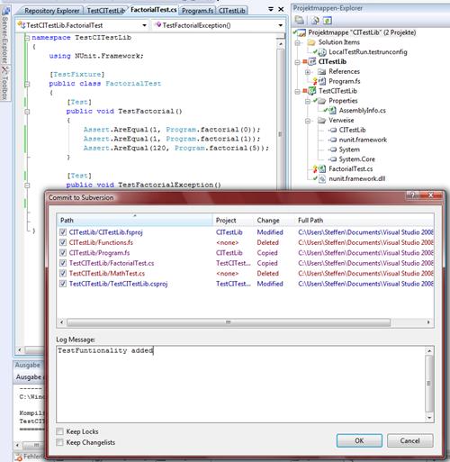 Adding Nunit.framework.dll