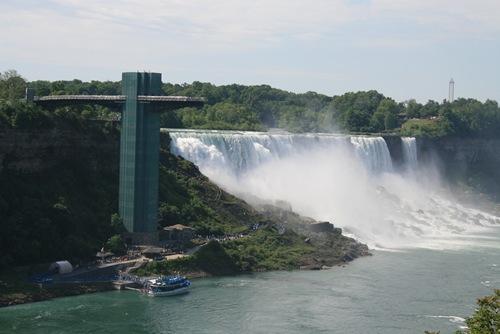 Amerikanische Niagara Fälle