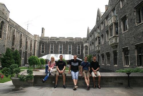 Gruppenbild Toronto University