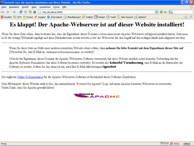 Apache WebService